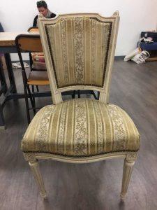 Chaise Style LOUIS XVI – avant réfection
