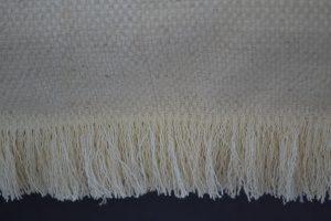 Création d'un sur-matelas transat ou canapé, franges décoratives sur le pourtour
