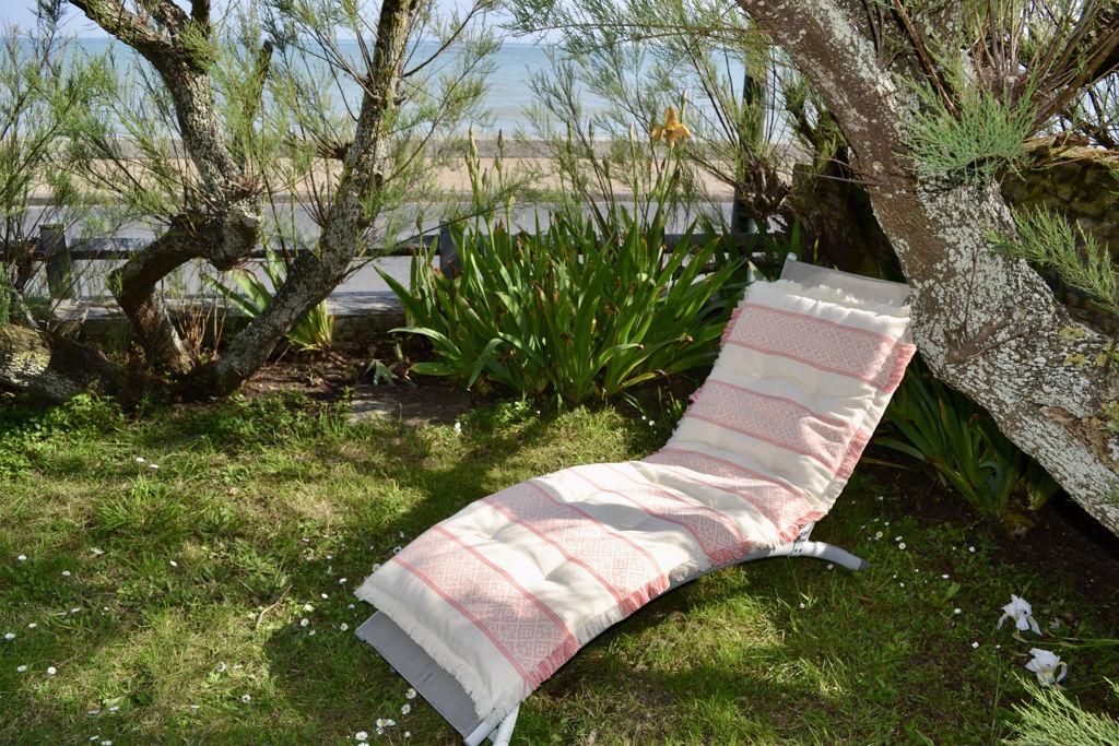 Création d'un sur-matelas transat ou canapé, garniture ouate de coton